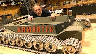 "ARMORTEK ELEFANT: 1/6 Scale METAL TANK BUILD - ""Tanks for 10 Years"" Project PT 4   RC ADVENTURES"