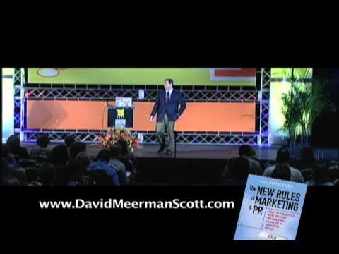 David Meerman Scott keynote speaker and seminar leader