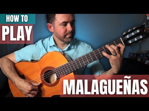 How to Play Malagueñas: Five Progressive Studies (Flamenco Guitar Lesson)
