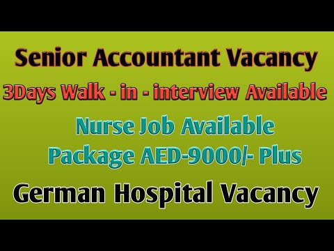 Nurse Job Vacancies In Various Countries # Job Vacancy Available In Gulf Countries # In GCC #