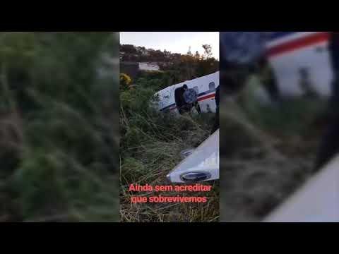 Em sua conta no Instagram, DJ Alok posta vídeo da aeronave fora da pista