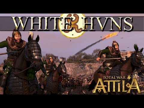 White Huns Review - Total War Attila FLC Faction