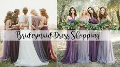 Vlog: Let's go bridesmaid dress shopping! || #FairytalefridaysEp4