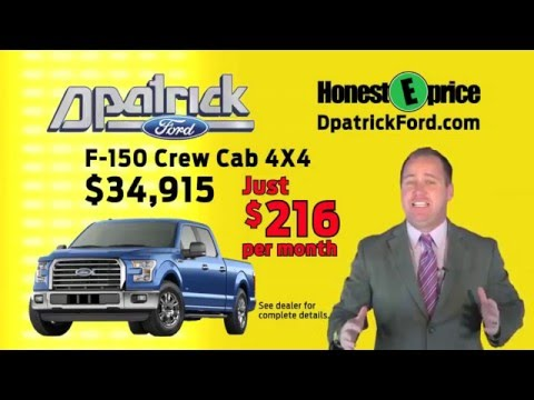 Evansville F150 Specials at D-Patrick Downtown Ford