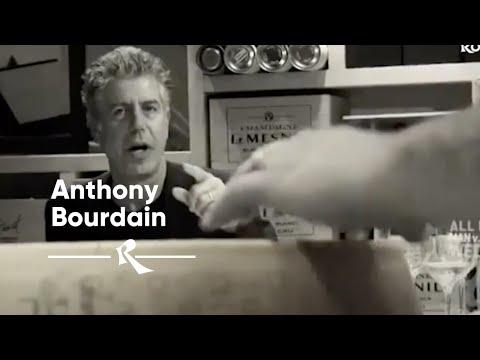 Anthony Bourdain - Wine Tasting Rome - Rimessa Roscioli