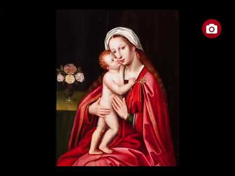 Virgin and Child  Anonymous Flemish