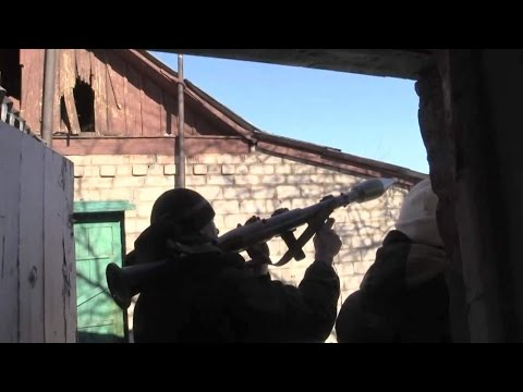 Ukraine Gun Battle Caught On Camera