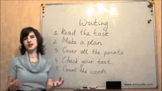 Письмо (ЗНО, англійська): У день тесту, відео урок