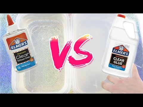 BEST ELMER'S CLEAR GLUE FOR SLIME