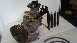 m-tdi pump pompe tdi-m agr alh ahf asv with injector avec injecteur