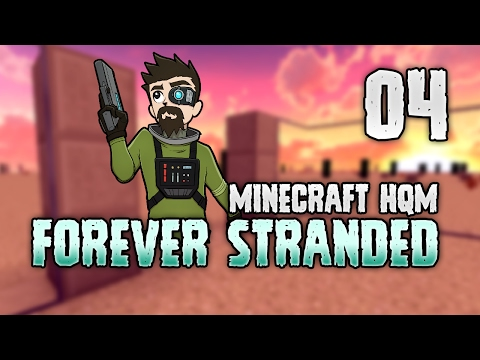 Minecraft: FOREVER STRANDED | 4 | INVISIBLE BASE! 🌟☑️ [Minecraft Modpack 1.10.2]