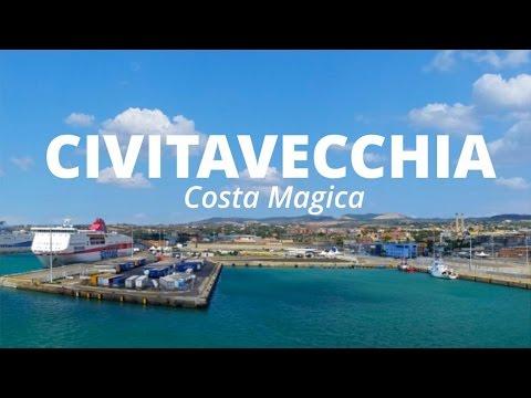 CIVITAVECCHIA IMBARCO SU COSTA MAGICA - Crociera Isole Del Sole | Travel Diary