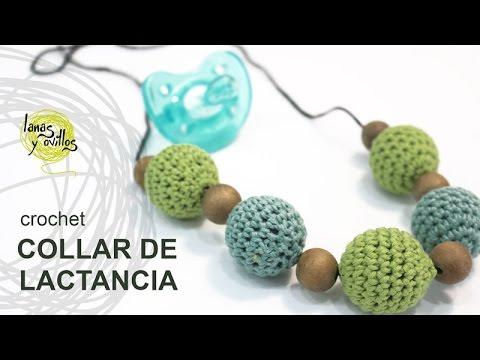 Tutorial Collar Lactancia Crochet o Ganchillo - YouTube