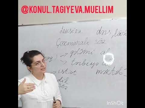 SİNONİM və ANTONİM sözlər