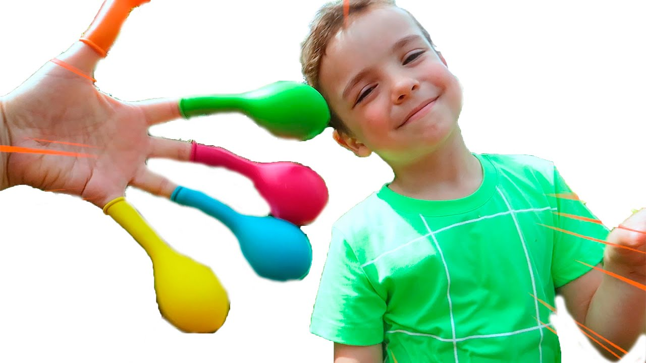 Daddy finger songs with baloons