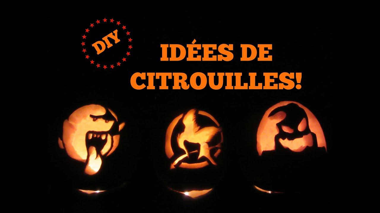 3 ides de citrouilles dhalloween