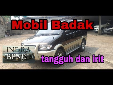 Review Mobil Bekas, Isuzu Panther Touring matic th 2001 Indonesia