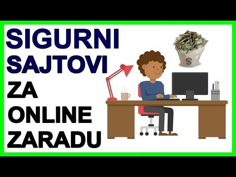 5 SIGURNIH Sajtova za Online Zaradu (Za Početnike)