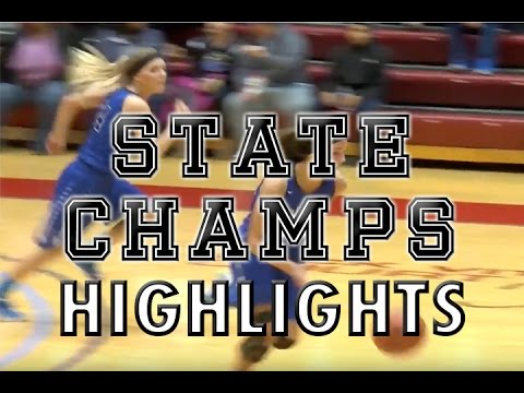 Waterford Our Lady of the Lakes vs. Bishop Foley - 2016 Girls Basketball Highlights on STATE CHAMPS!