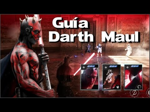 Guía Darth Maul Battlefront II
