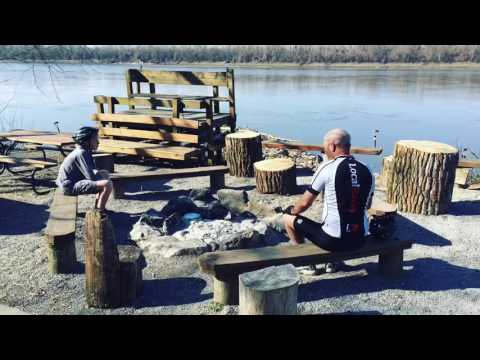 Katy Trail Bike Ride - Clinton MO to St. Charles MO | 275 miles across Missouri