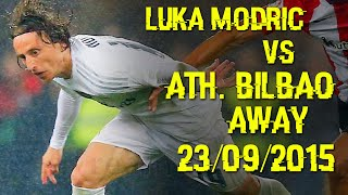 luka modric vs athletic bilbao away 23 09 2015 athletic bilbao vs real madrid c f 1 2 hd