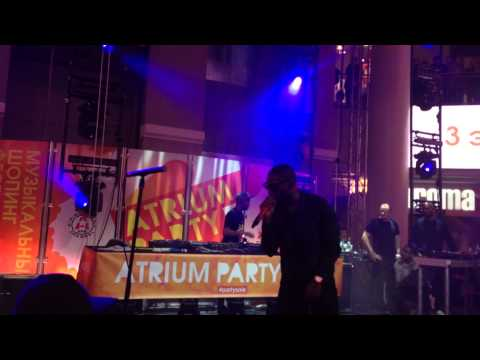 Tinie Tempah Live At Atrium Party Sale  Moscow 2013 (Incomplete)