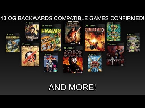 13 OG Xbox BC Games Confirmed! And More!
