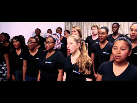 Rugby World Cup 2015 - World in Union - Go Bokke! (UCT Choir)