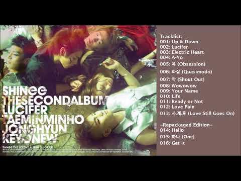 [Full Album] 샤이니 (SHINee) Lucifer Album