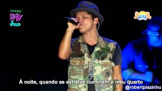 Bruno Mars Talking To The Moon Live HD Legendado Em PT BR