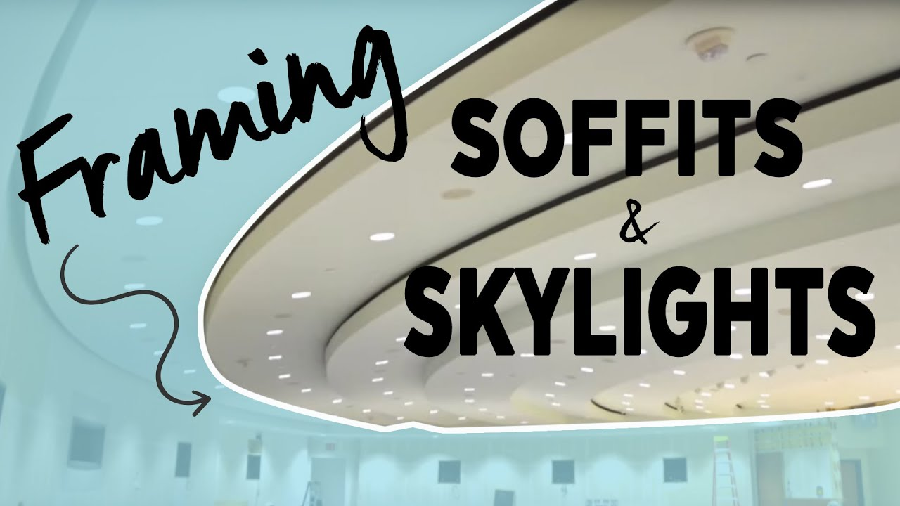 Unique Soffit Project Drywall Grid Case Study Youtube