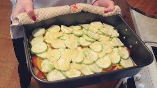 Фитнес рецепты ||| Диетическая лазанья из кабачков