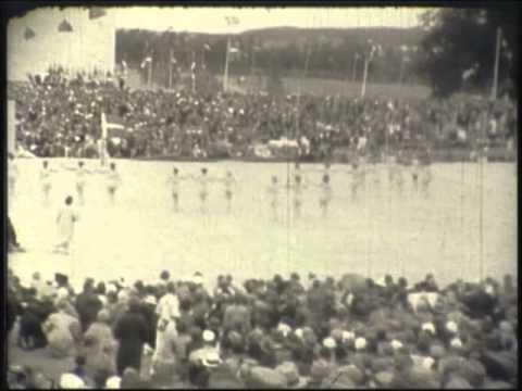 Afslutning - Landsstævne 1935 i Ollerup
