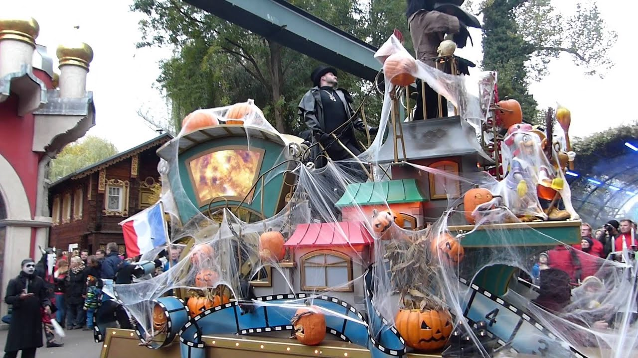 europa park halloween parade youtube. Black Bedroom Furniture Sets. Home Design Ideas