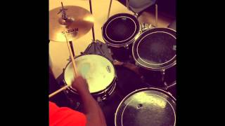 Aaliyah-One In A Million(Instrumental) Drum Cover by Devin Adams
