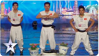 pain master bao cuong makes judges squeam   asia s got talent episode 3