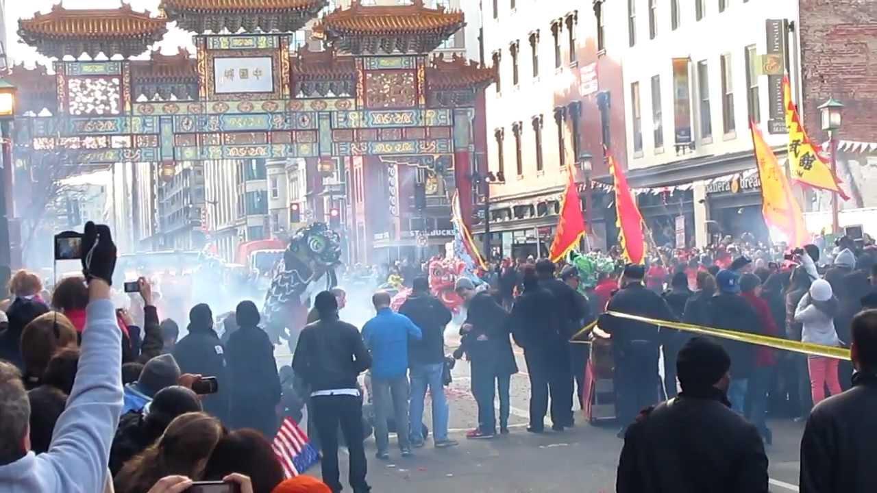 washington dc chinatown fireworks chinese lunar new year 2013 celebration - Chinese New Year Dc