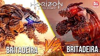 Horizon Zero Dawn - A LUTA MAIS ÉPICA ( Britadeira vs Britadeira ) UFC das Máquinas!