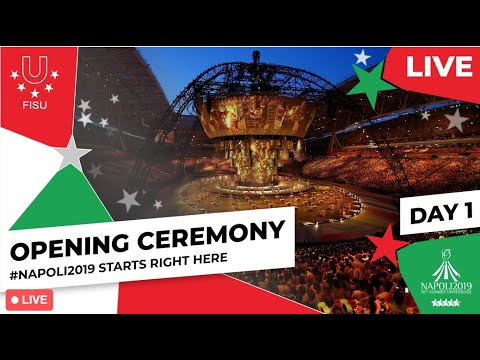 Opening Ceremony  Summer Universiade 2019: This Is Where It All Begins! The Napoli 2019 Summer U...