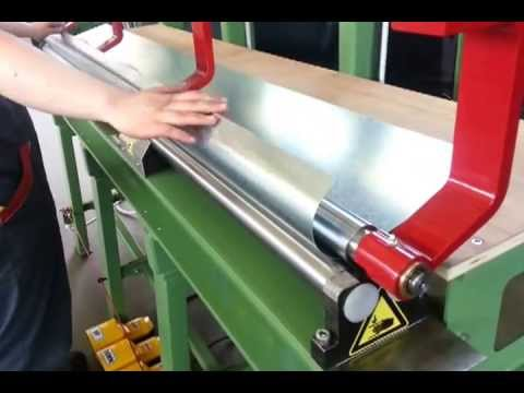 Production Of Downspout Rolling And Seaming 2 Meters