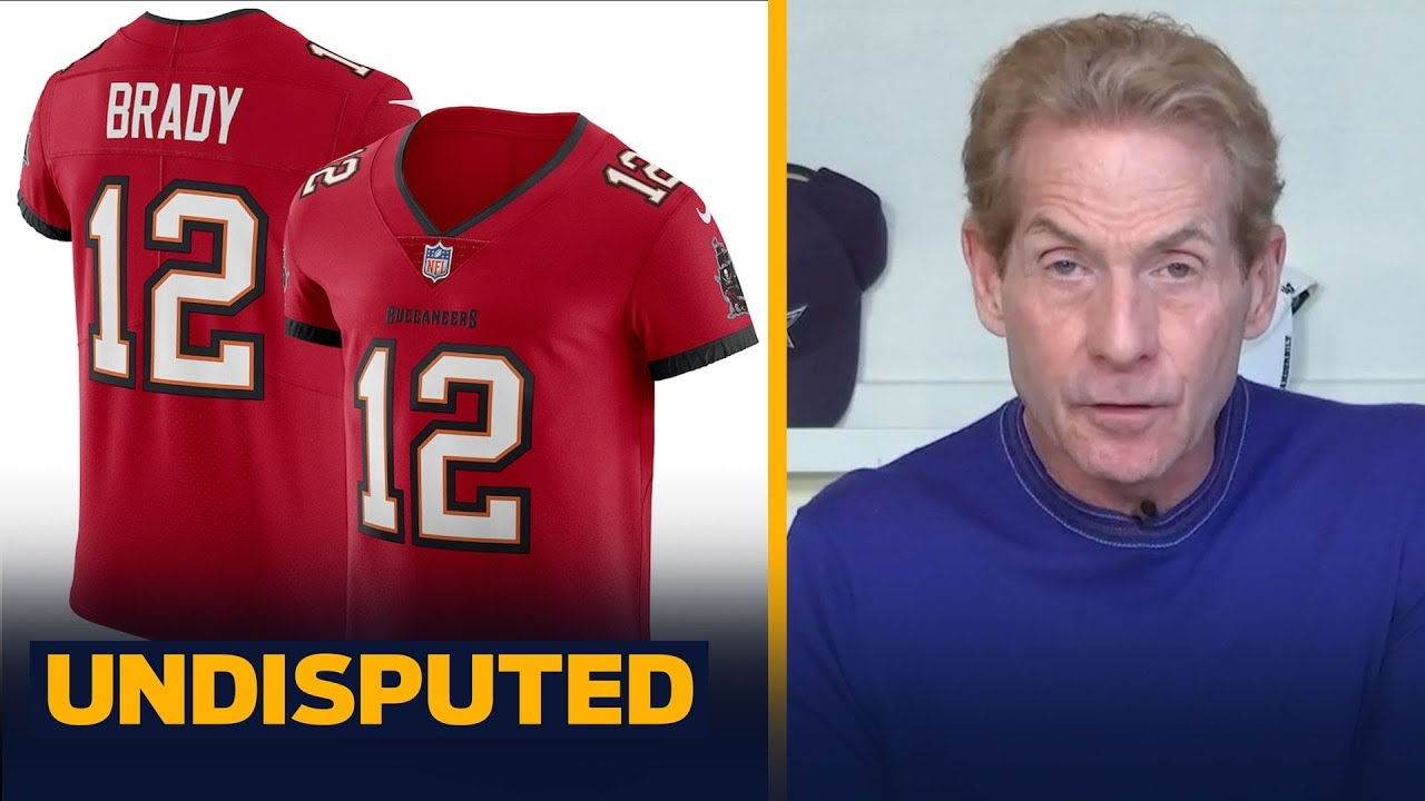 Brady S Top Selling Bucs Jersey Means Pats Fans Chose Brady Over Belichick Skip Nfl Undisputed Youtube