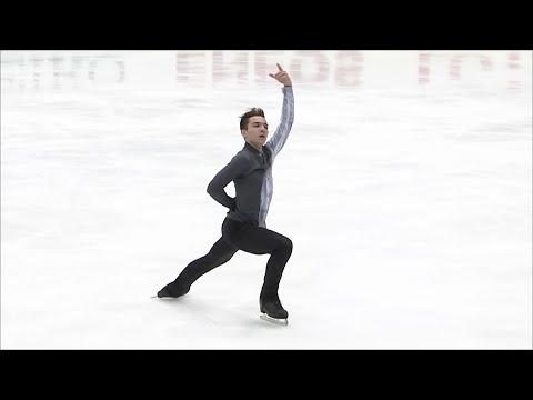 Антон Шулепов. Произвольная программа. Мужчины. NHK Trophy. Гран-при по фигурному катанию 2019/20