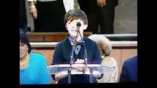 Aidan Thomas Hornaday benediction at Martin Luther King Jr. Celebration(Aidan Thomas Hornaday at just 14 years old was invited to give the benediction during the Martin Luther King Jr. Celebration at Ebenezer Baptist Church, ..., 2015-01-22T00:49:55.000Z)