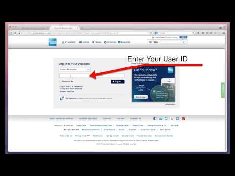 American Express Login And Bill Payment Through AmericanExpress.com/Pbc Page