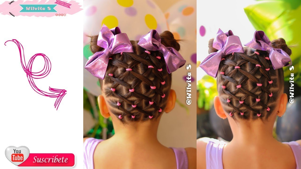 Peinado Con Ligas Para Ni 241 A Easy Ponytail For Girl