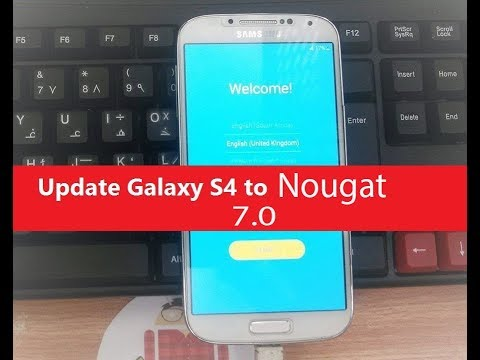 Exclusive: Update Samsung Galaxy S4 GT-I9500 Like S7 Edge (android 6.0.1 Marshmallow)