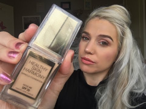 *NEW* MAX FACTOR 'Healthy Skin Harmony' Foundation First Imp