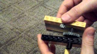 Lego RECIPROCATING MOTION Machine TUTORIAL