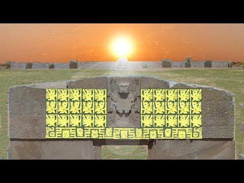 Tiwanaku Calendar and Sun Gate